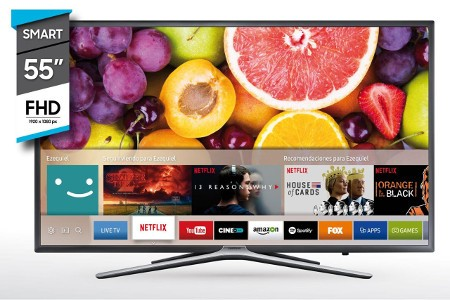 "TV SAMSUNG 55"" UN55K5500 SMART"
