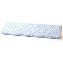 ALMOHADA GANI BLUE PILLOW 140X35X11